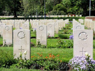 Canadese begraafplaats - Holterberg