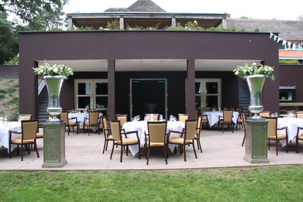 Benedenterras Restaurant Hotel Hoog Holten