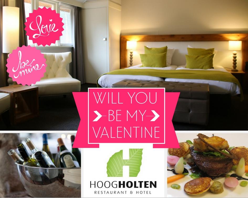 Romantisch overnachten bij Hoog Holten met valentijn